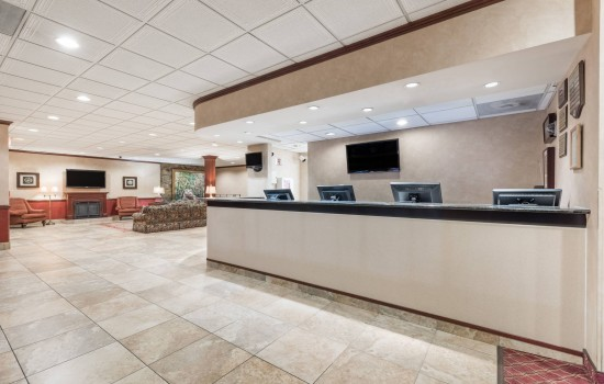 Welcome To Ramada Hotel & Conference Center State College - Lobby Area And Reception Desk