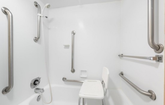 Welcome To Ramada Hotel & Conference Center State College - Accessible Shower